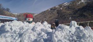 אתר החרמון,שלג