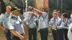 """מפכ""""ל המשטרה קובי שבתאי ומפקד מחוז צפון שמעון לביא באירוע"""