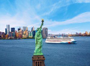 פסל החירות, ספינה