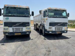 משטרת התנועה, משאיות