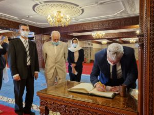 """מנכ""""ל משרד החוץ בביקור במרוקו"""