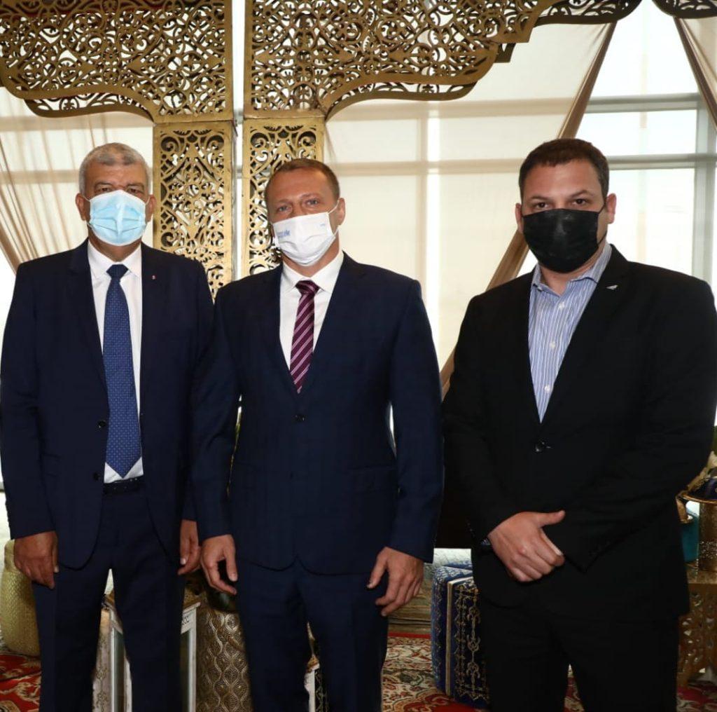 """שר התיירות רזבוזוב, מנכ""""ל אל-על ושגריר מרוקו"""