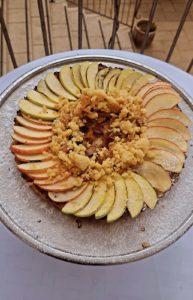 קראק פאי תפוחים גלילי