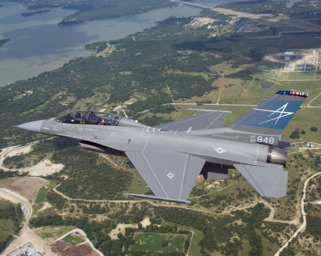 מטוס f16 של לוקהיד מרטין