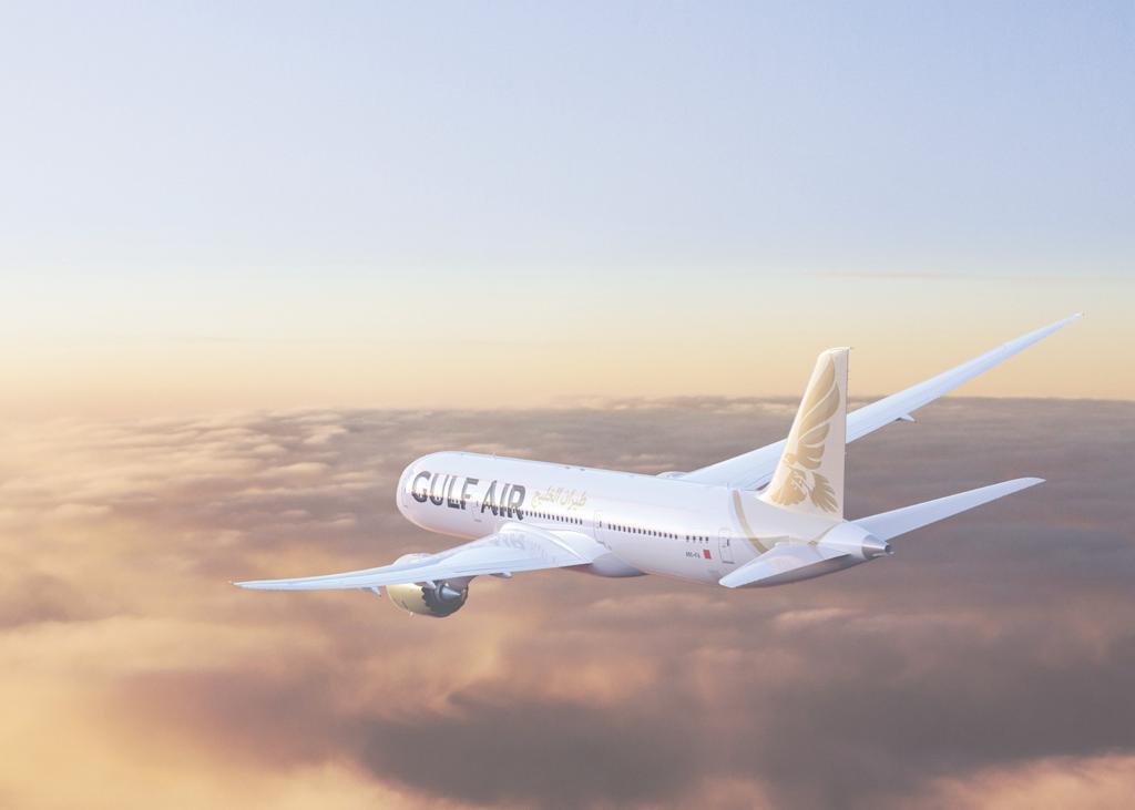 מטוס חברת התעופה של בחריין